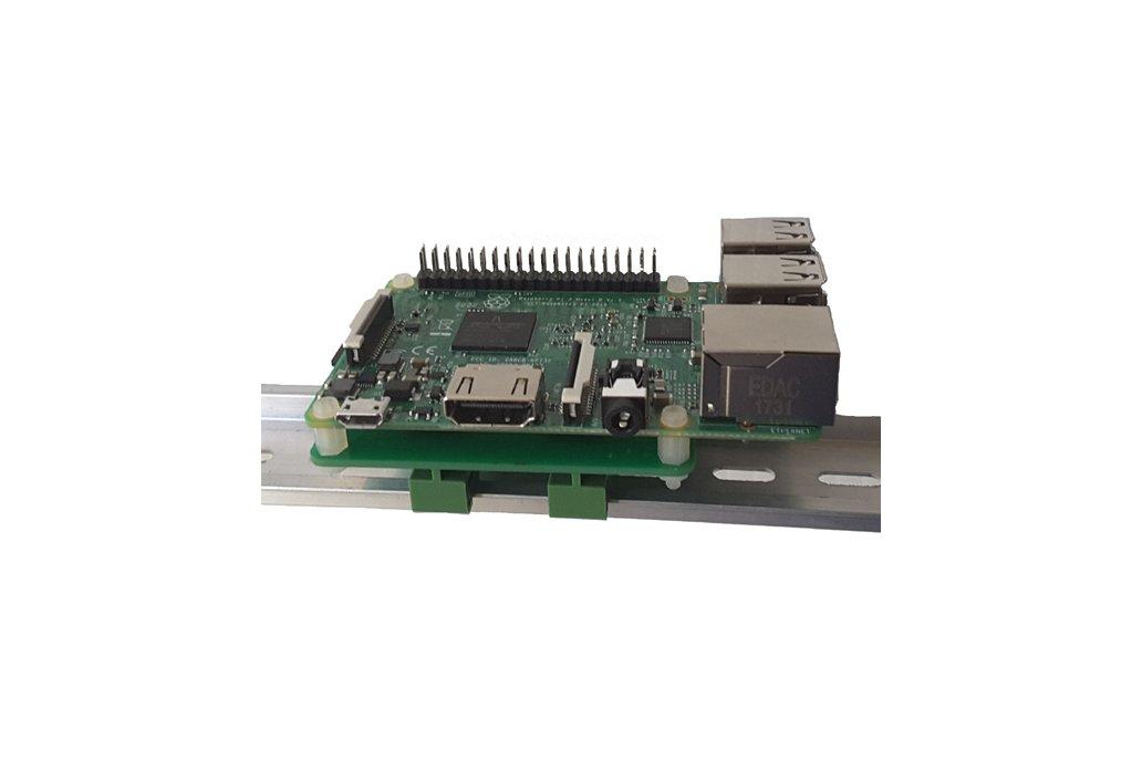DIN-Rail kit for Raspberry Pi 2/3/Zero 3