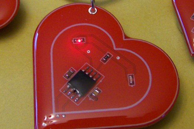 Electronic Heart Pendant and/or Earrings