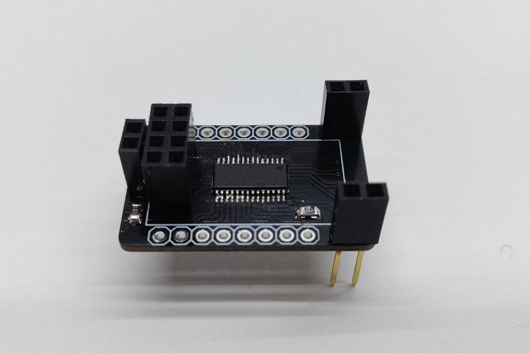 ESP8266-01  -  16 channel PWM expander (PCA9685) 1