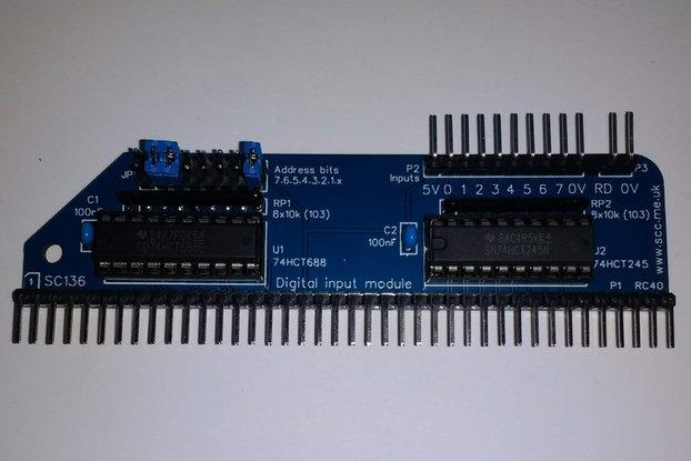 SC136 Digital Input Module Kit for RC2014