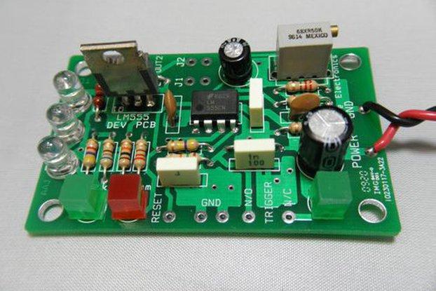 LM555 Timer Development Kit (#1710)