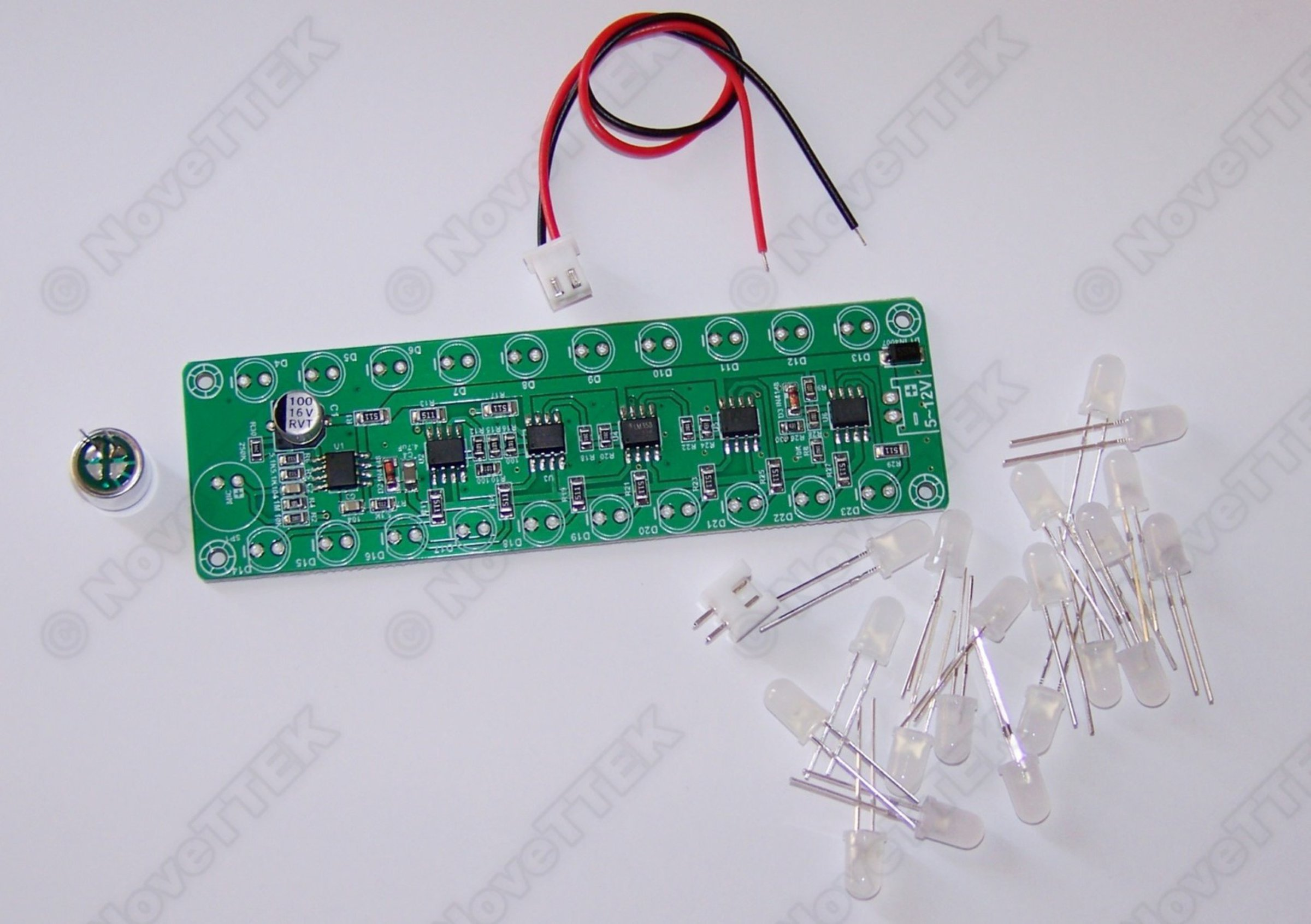 Led Voice Sound Level Indicator Meter Dual Row Sa From Novettek On Components Of A Schematic 5