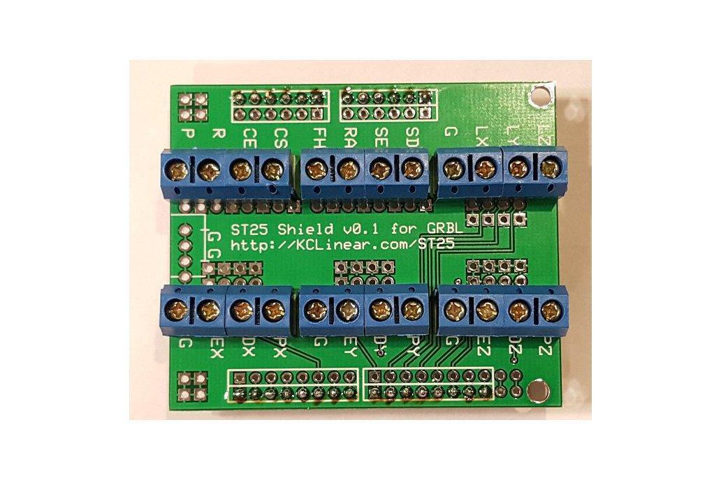 ST25 - Arduino GRBL Screw Terminal Board w Arduino 1