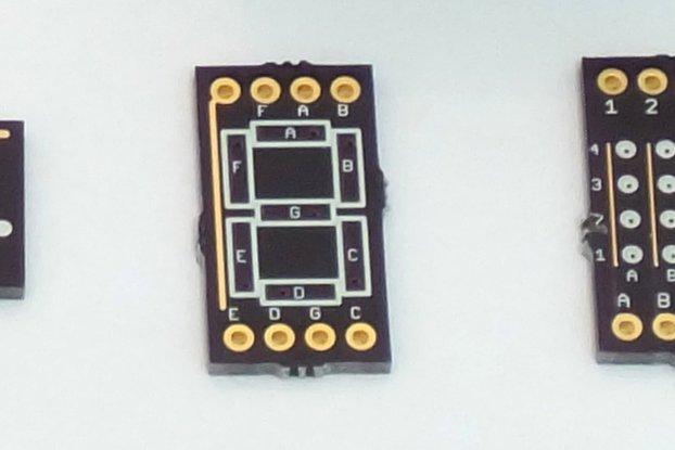 EL Display on PCB Demo Boards