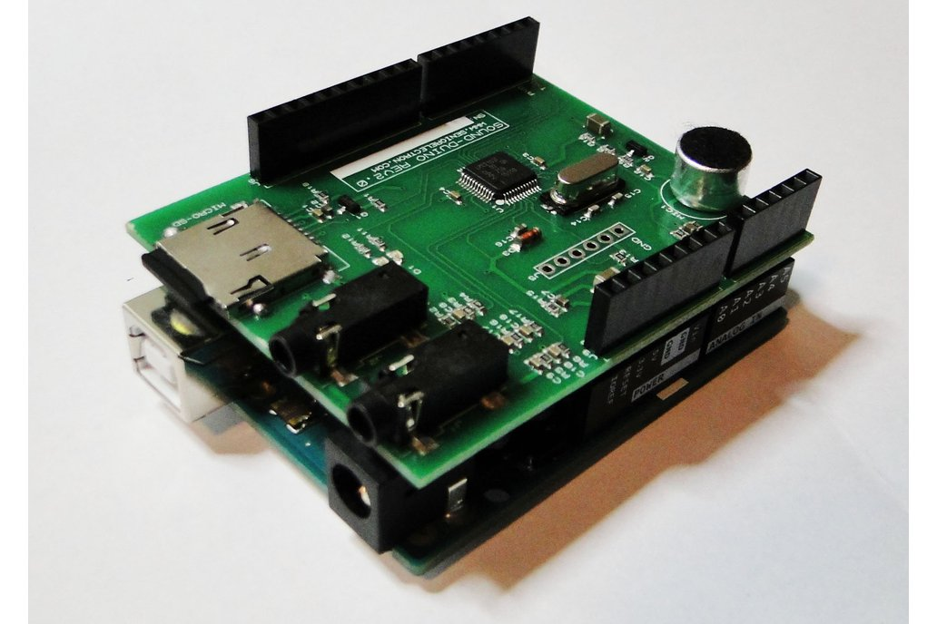SoundDuino , Audio Shield for Arduino 7