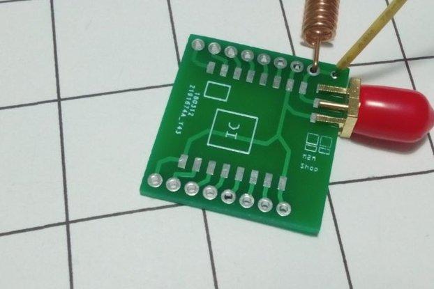 RFM95 PCB