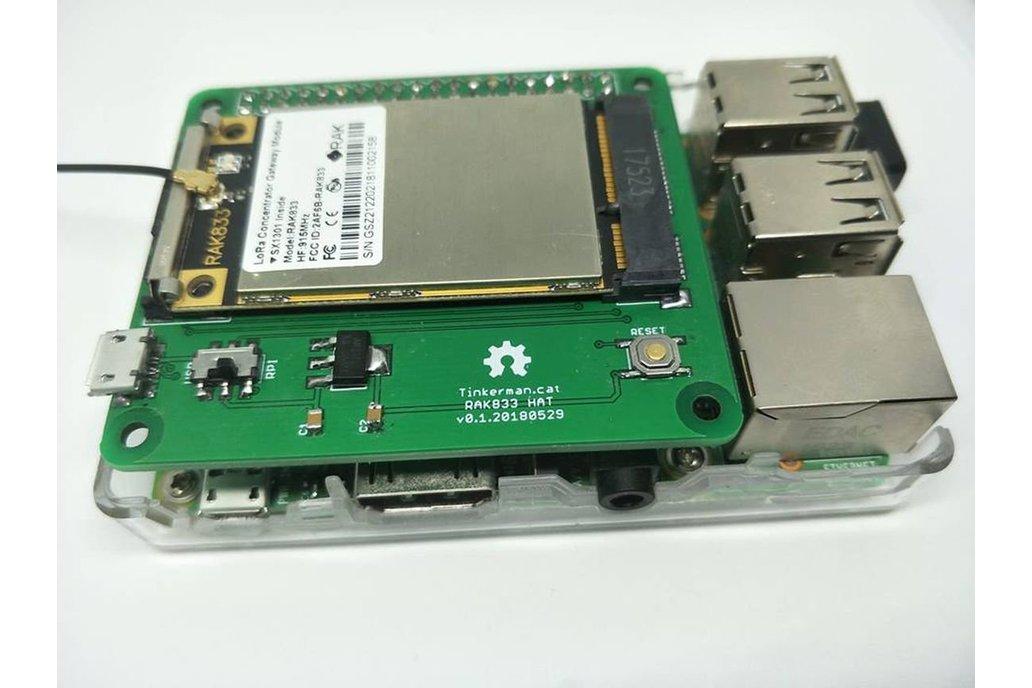DIY KIT PCB RAK833 Raspberry Hat  LoRaWAN Gateway 1