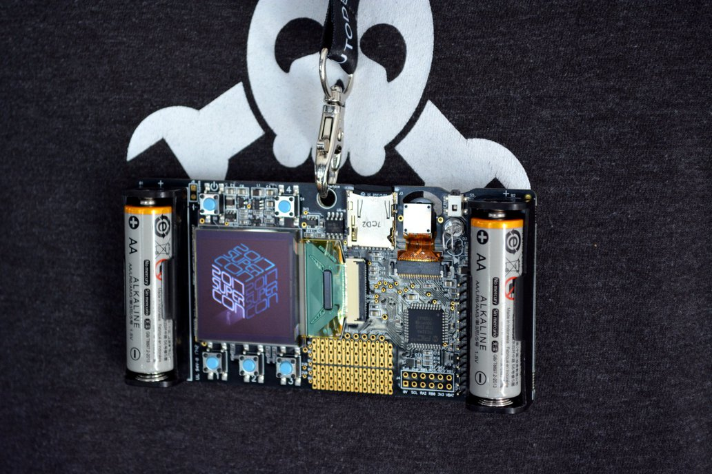 2017 Hackaday Superconference Badge 12