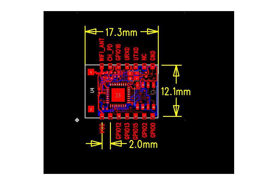 ESP8266 ESP-03 Module