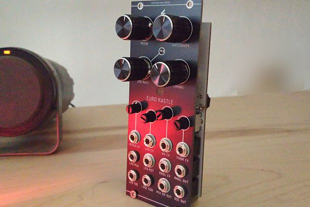 Euro Kastle Synth V1.5 (Partial kit)
