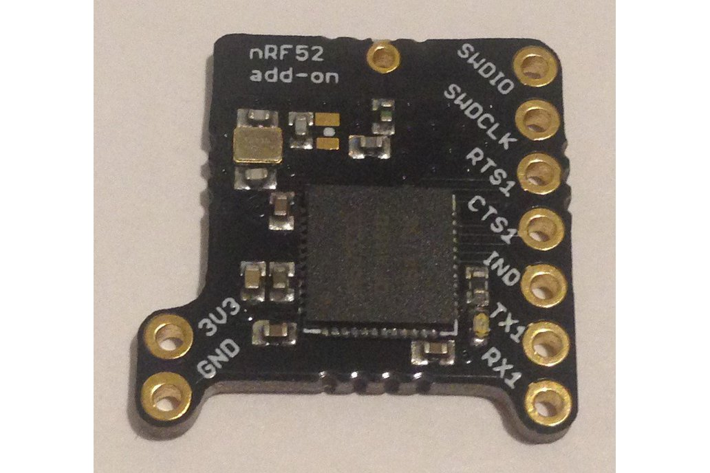 nRF52 add-on for Butterfly and Teensy 1