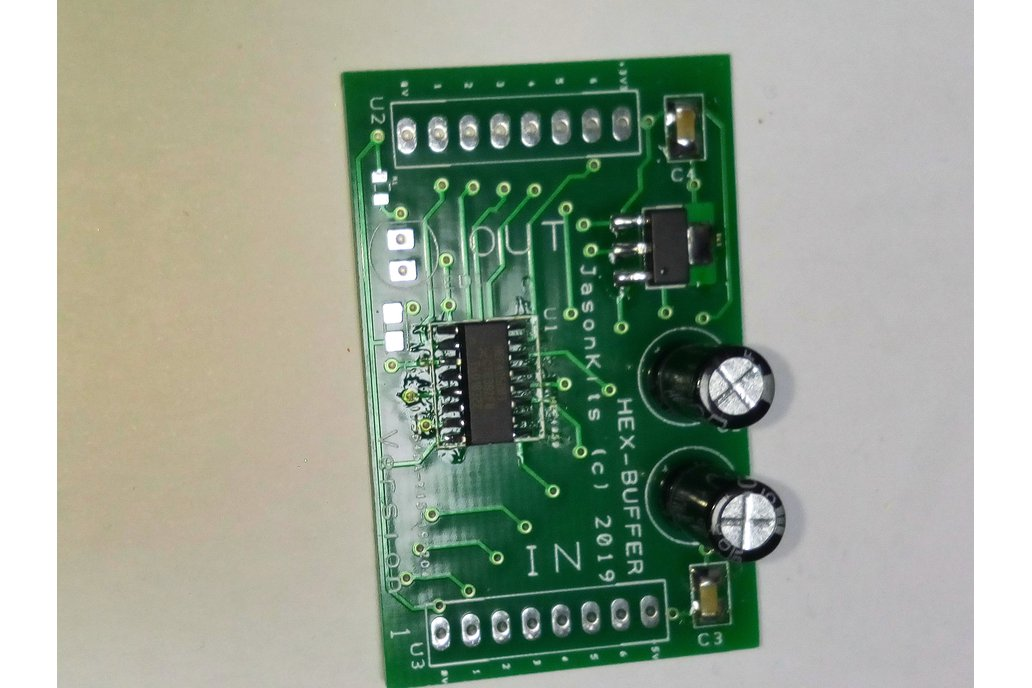 6 channel Regulated Hex Buffer 5v to 3v Interface 1