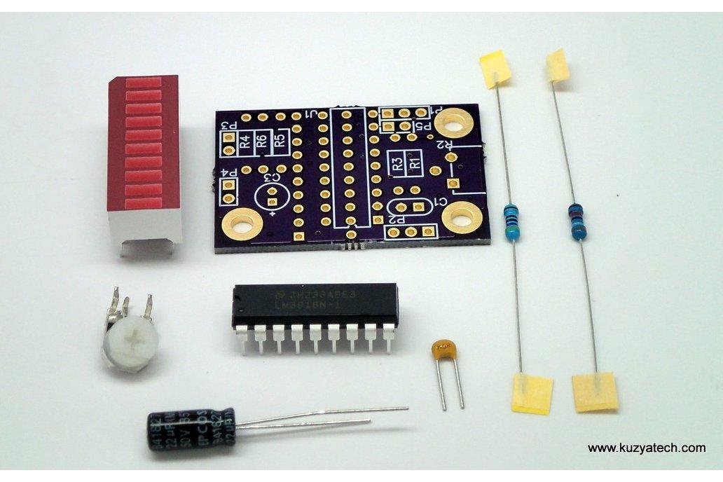LM3916 LED bargraph/ VU meter - pick your color 3
