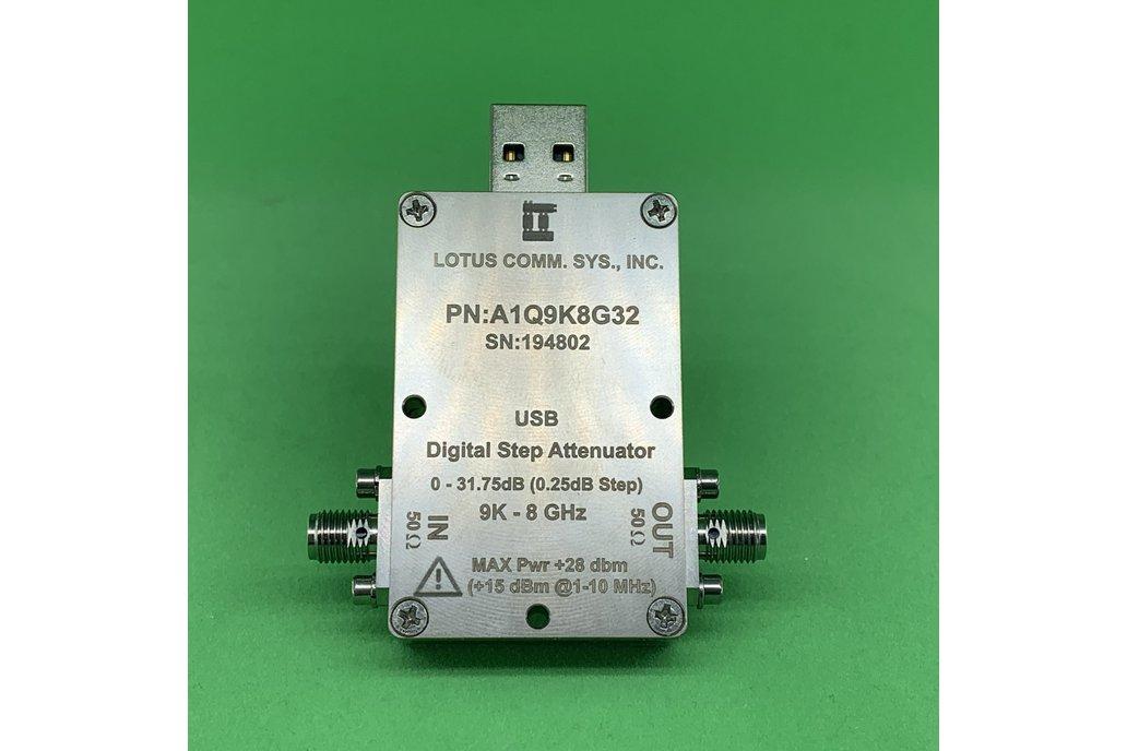 1 Chan 32 dB Programmable Attenuator 9K-8GHz (USB) 1
