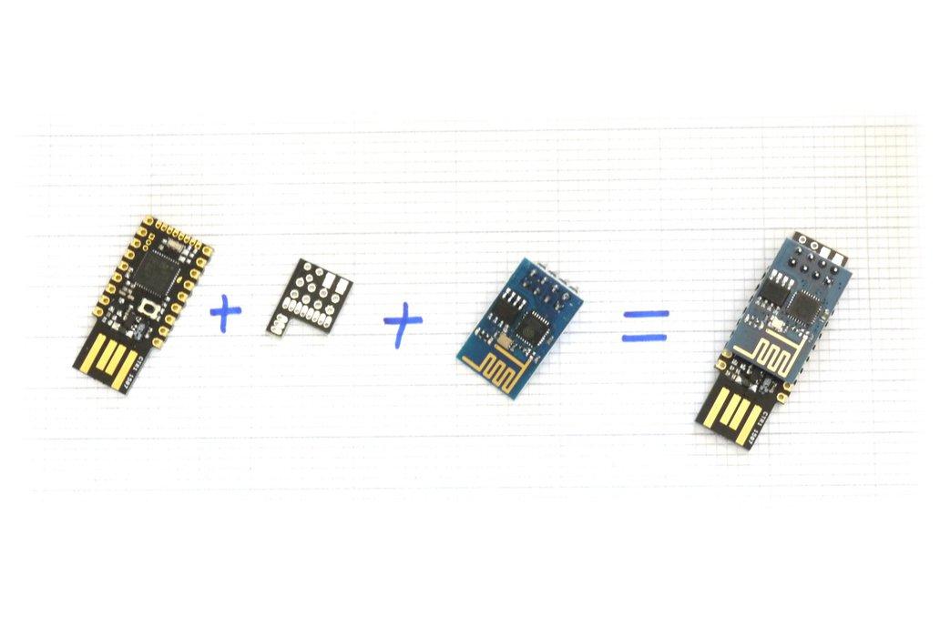 Espruino Pico ESP8266 WiFi Shim 2