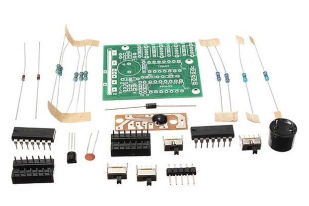 Sound Box Kit Electronic DIY Suite