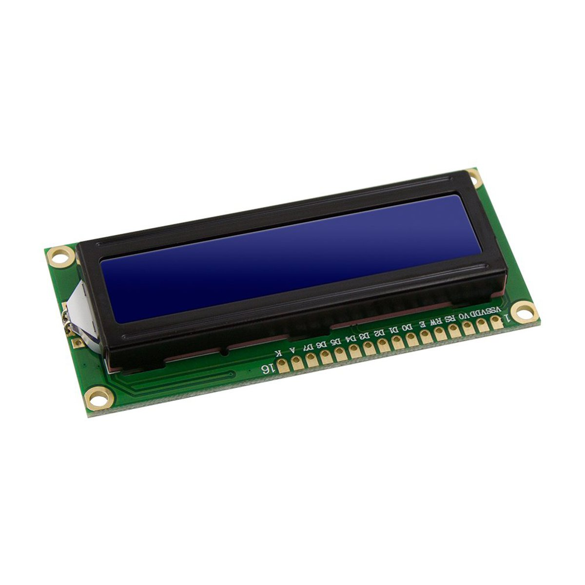 LCD Module Display Monitor 1602 5V Blue Screen from robotart on Tindie