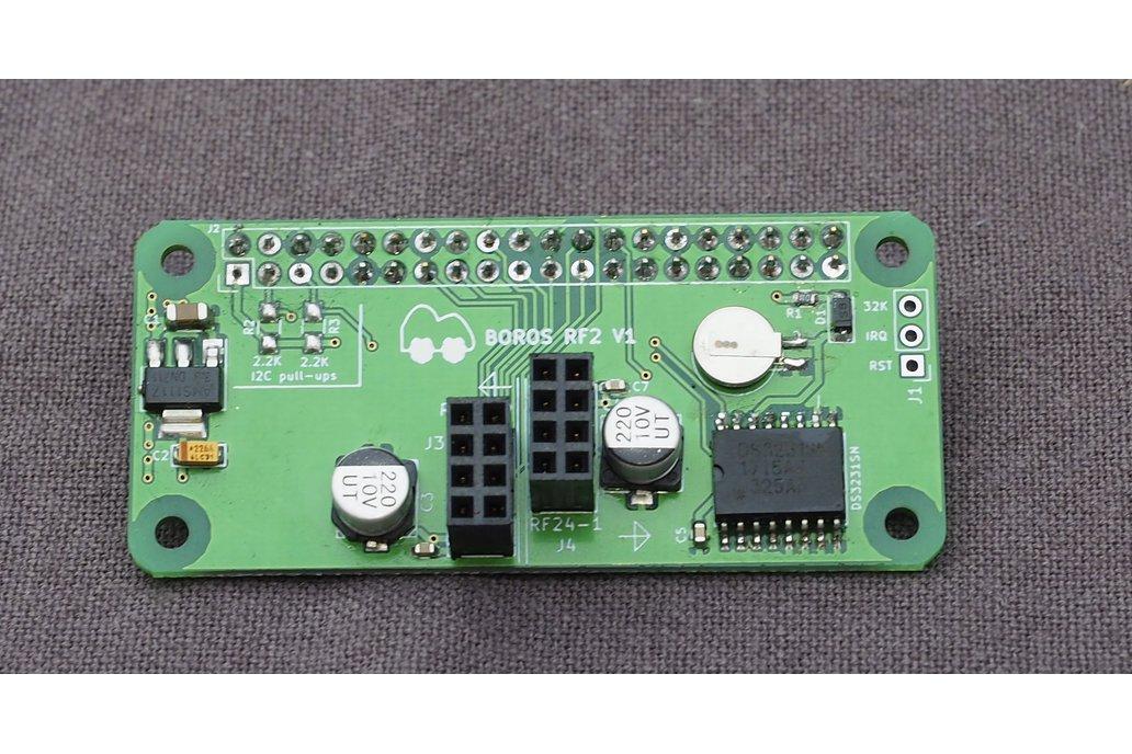 BorosRf2 - Dual nRF24L01 pHat/Hat + RTC for Pis 1