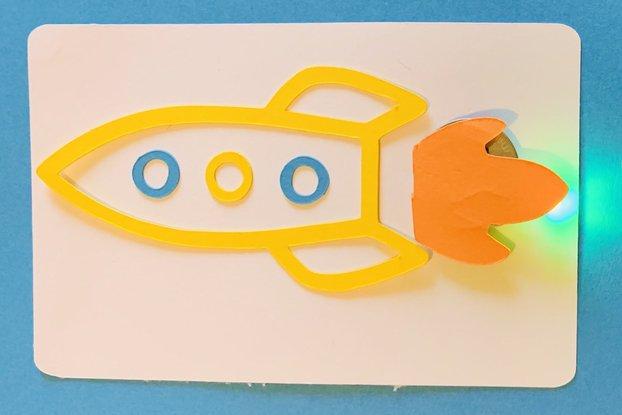 Paper Circuits - Blaster Rocket