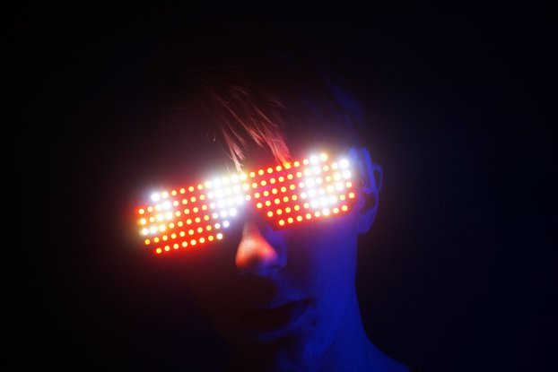 Pixxel LED Glasses - 126 RGB LEDs
