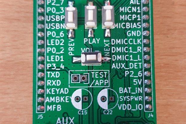 BM83 breadboard adapter