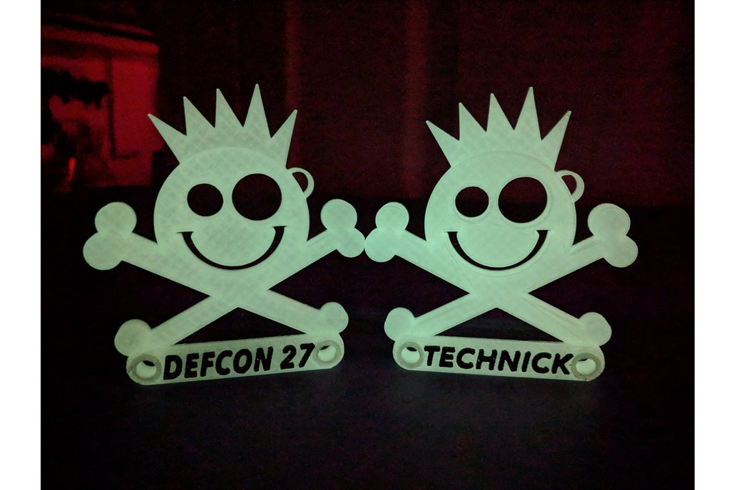 New Jack Badge - Custom Printed- DefCon 27 / Derby 1