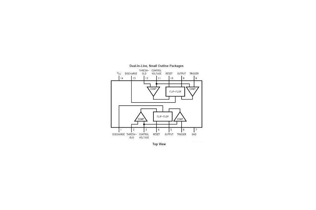 LM556 Dual Timer IC Kit 2