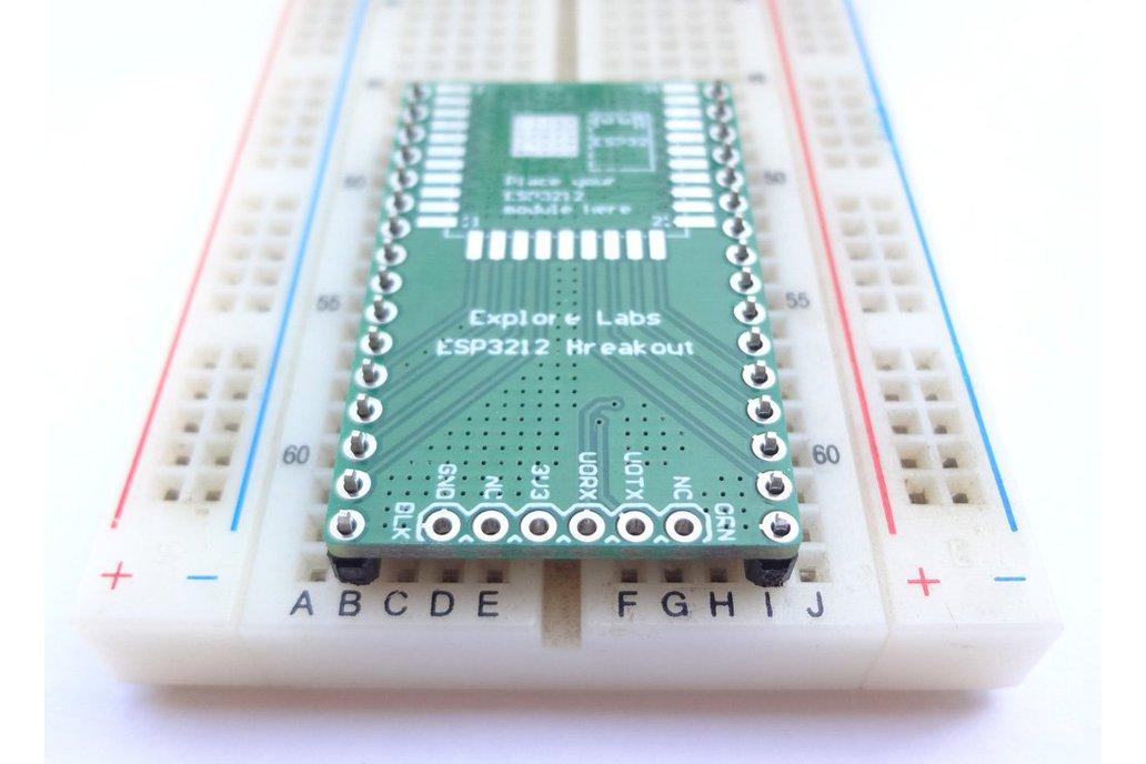 ESP3212 Breadboard Friendly Breakout Board 1