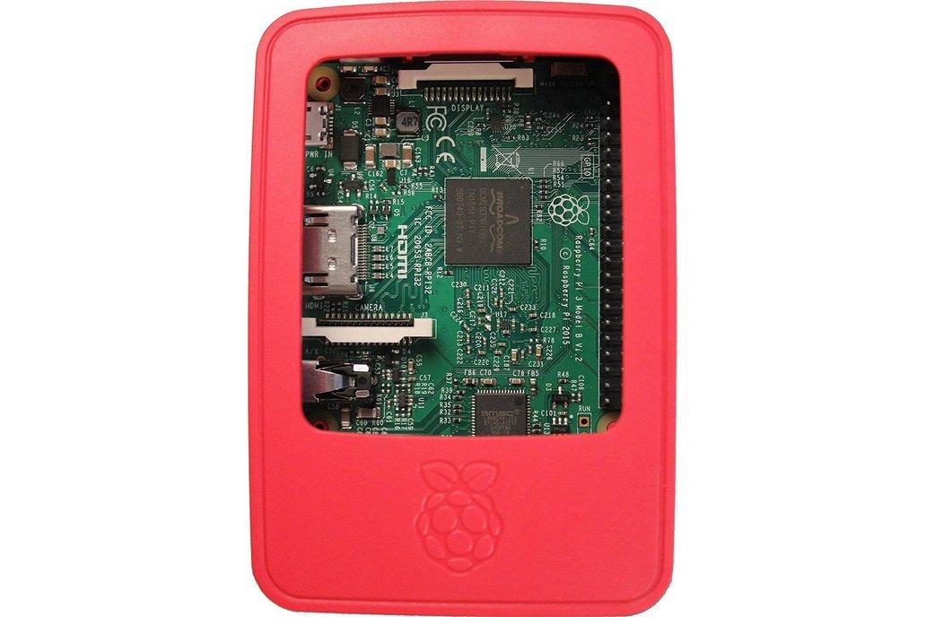 Raspberry Pi 3 Case - Red/White 5