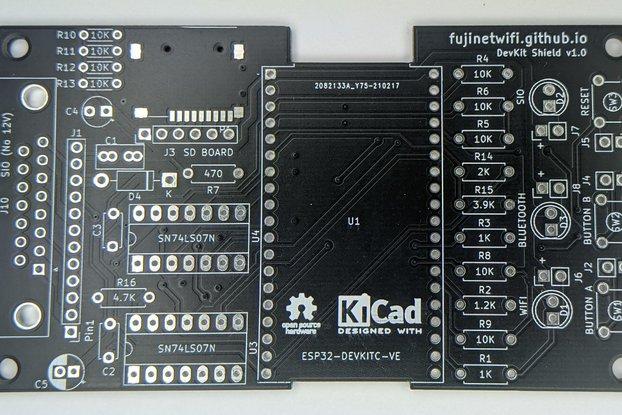FujiNet Devkit Shield