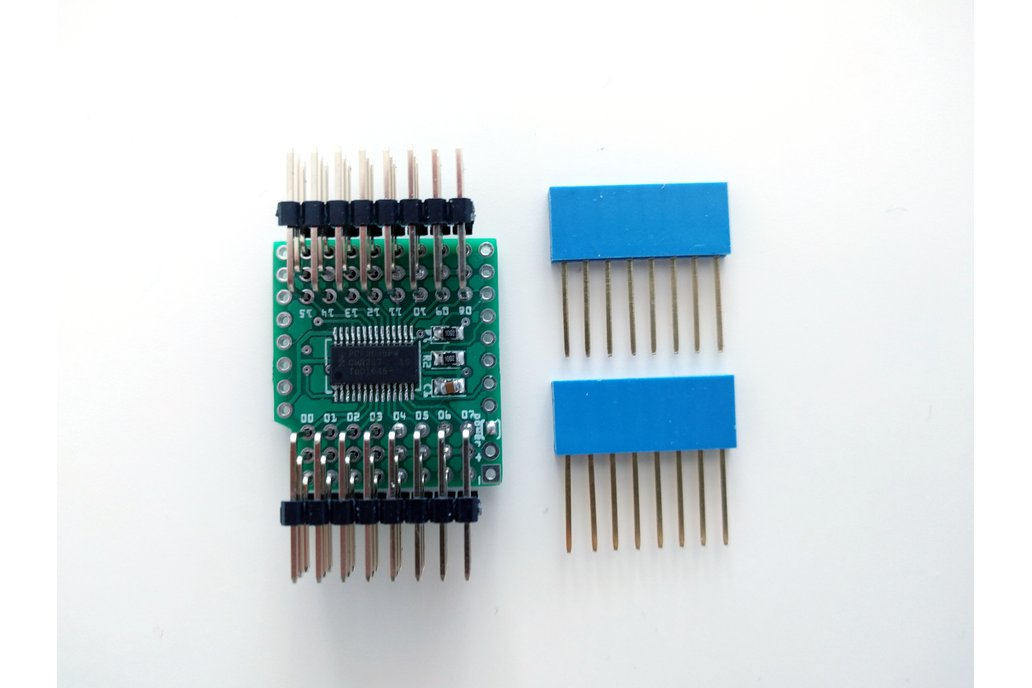 16-channel Servo Shield for D1 Mini, Version 2.0 3