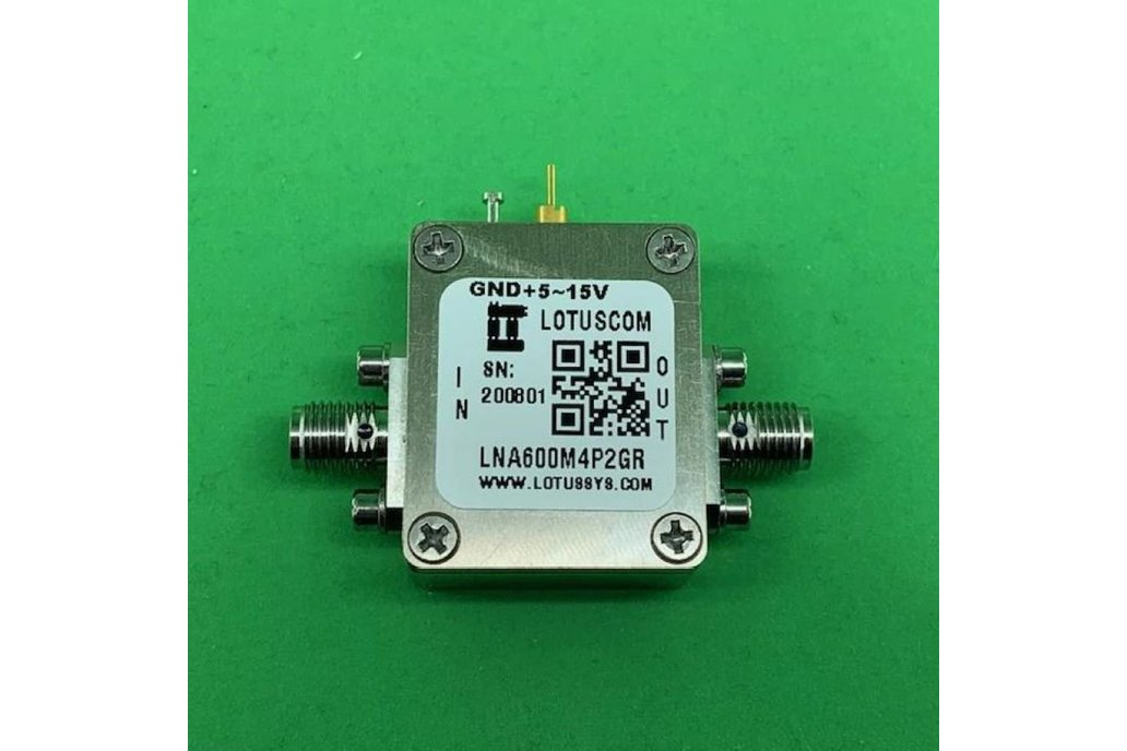 Broadband Ultra LNA with LDO 0.6dB NF 600M~4.2GHz 1