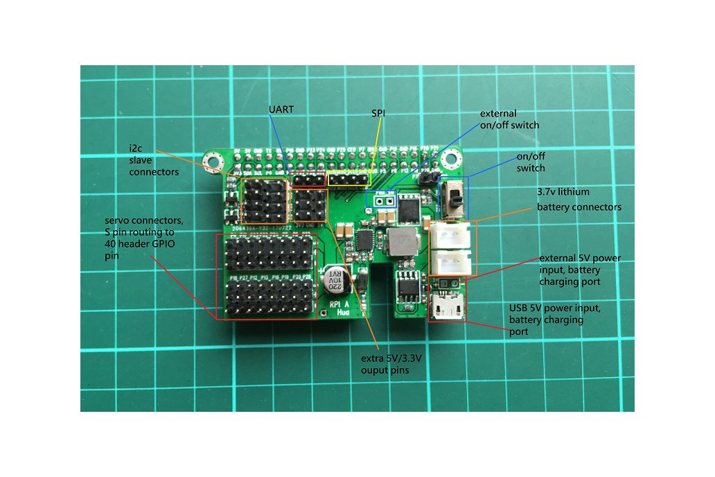 Advance I/O Expansion Board for Raspberry PI 5