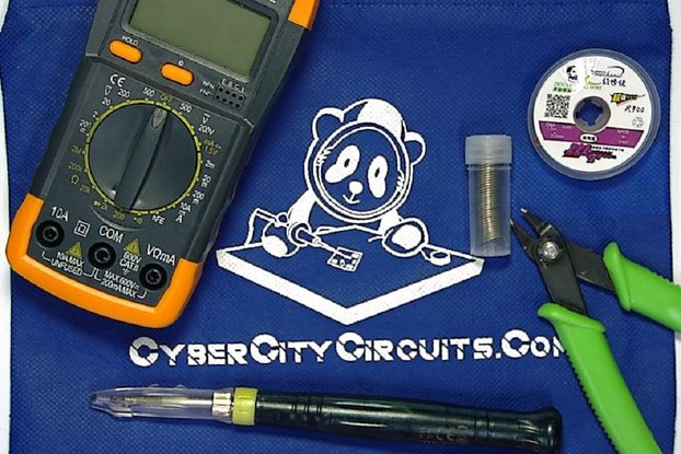 Cyber City Circuits Basic Tool Kit
