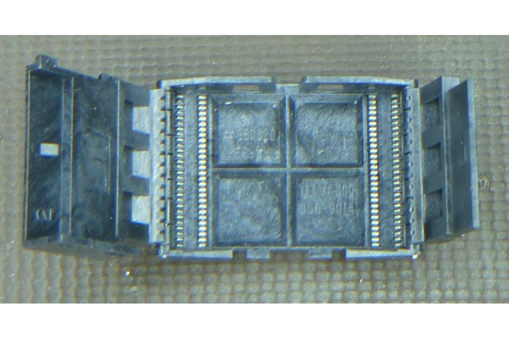 Meritec TSOP 56 pin 0.5mm pitch SMD socket 1