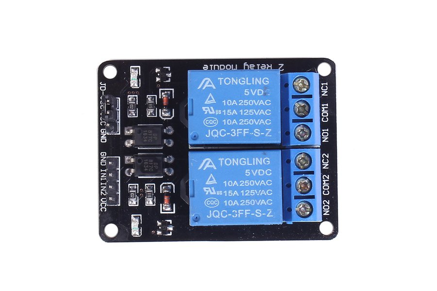 5V 2-Channel Relay Module for Arduino(1647)