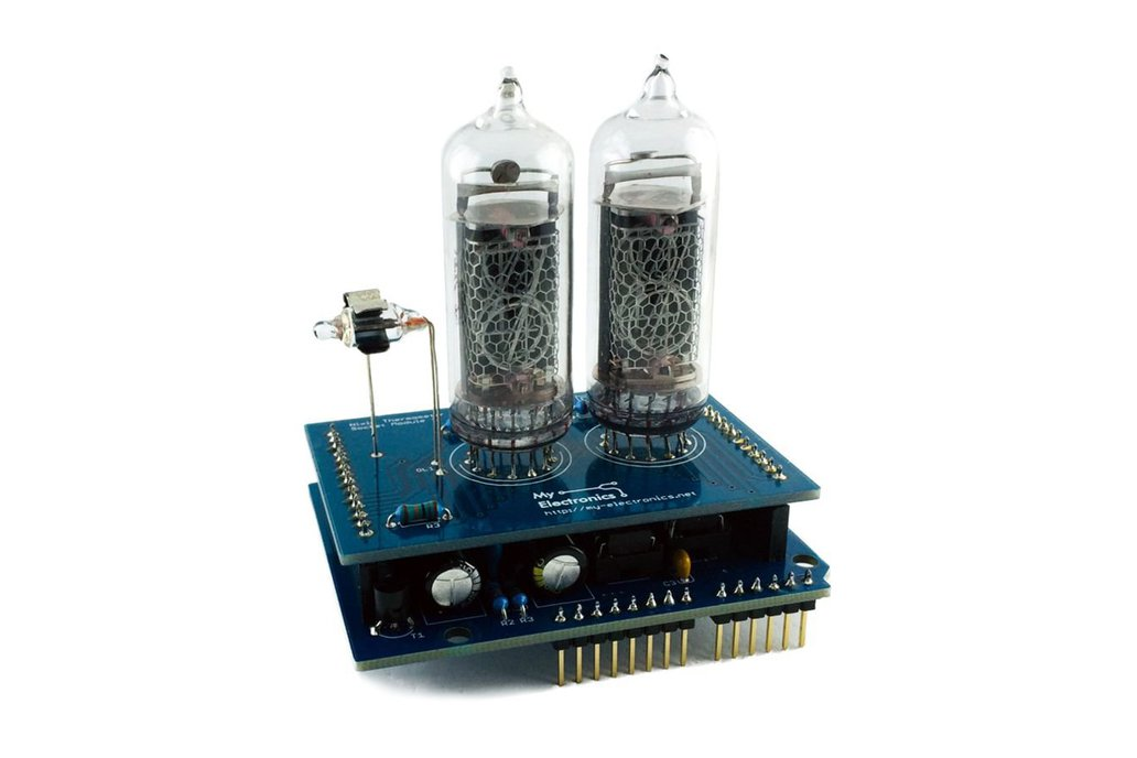 Nixie Thermometer Shield for Arduino 1