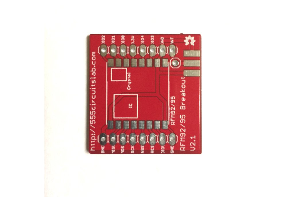 RFM95W  Breakout Board for LoRa Applications 1