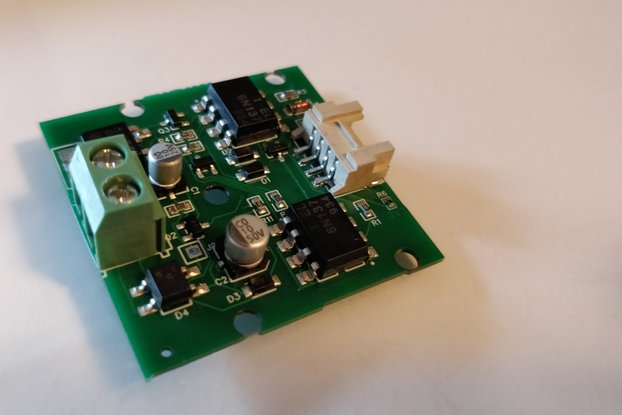 DCC Interface Breakout Board with Grove Port