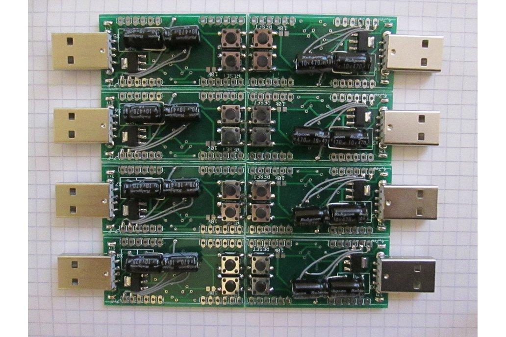 USB AVR Stick PROTOTYPE with Atmel ATxmega128A3U 1
