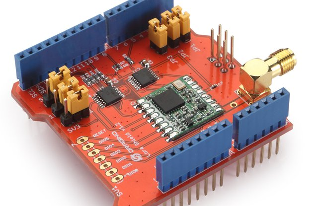 Arduino Shield featuring LoRa® technology