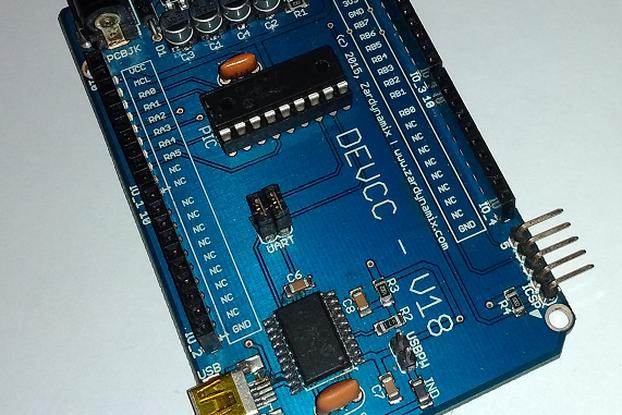 18 PIN PIC Prototyper