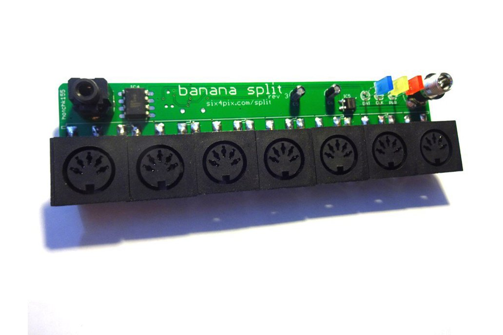 Banana Split - 6 Way Midi Splitter/Thru Box 5