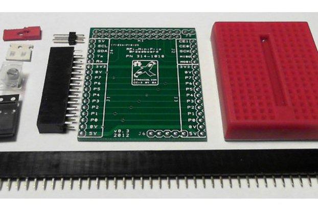 Raspberry PIIO - Breadboard add-on (Kit Only)