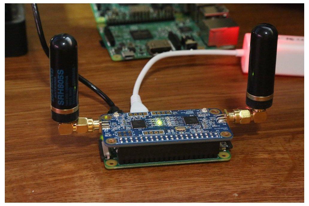 MMDVM DUPLEX in Pi Zero Form Factor 8