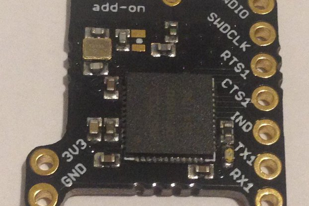 nRF52 add-on for Butterfly and Teensy