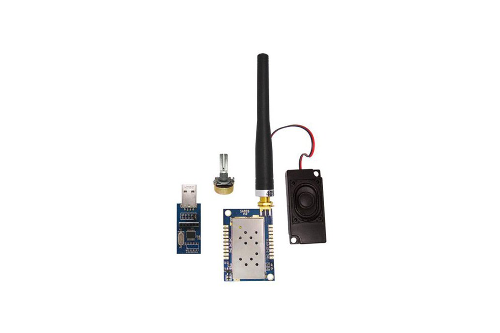 SA828 1W All-in-One Walkie Talkie Module kit 9