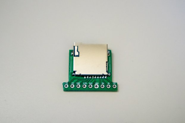 MicroSD/TF breakout with pull up resistors