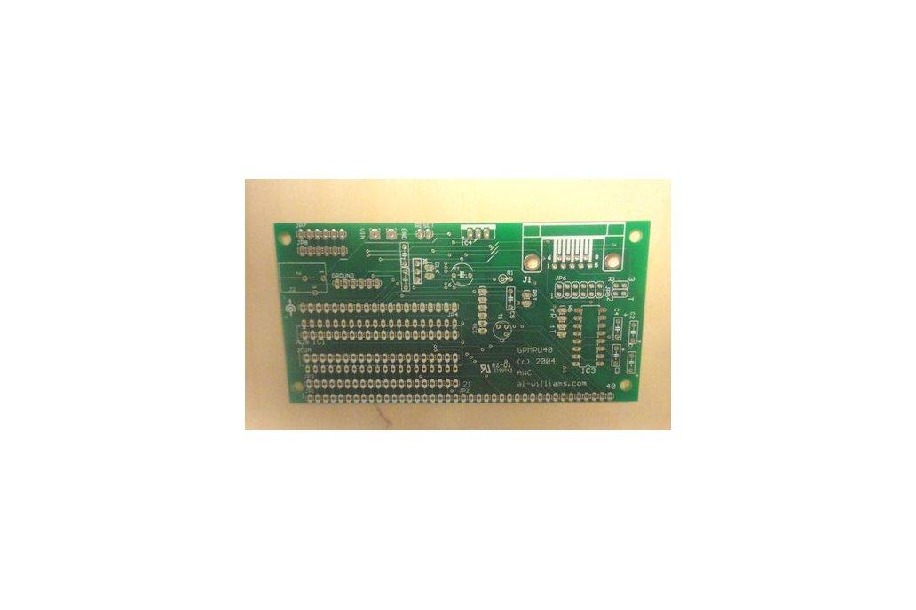 Universal DIP Microcontroller PCB 1