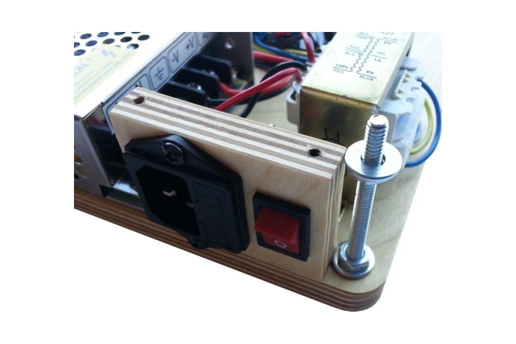Hybrid Vacuum Tube Audio Amplifier 4
